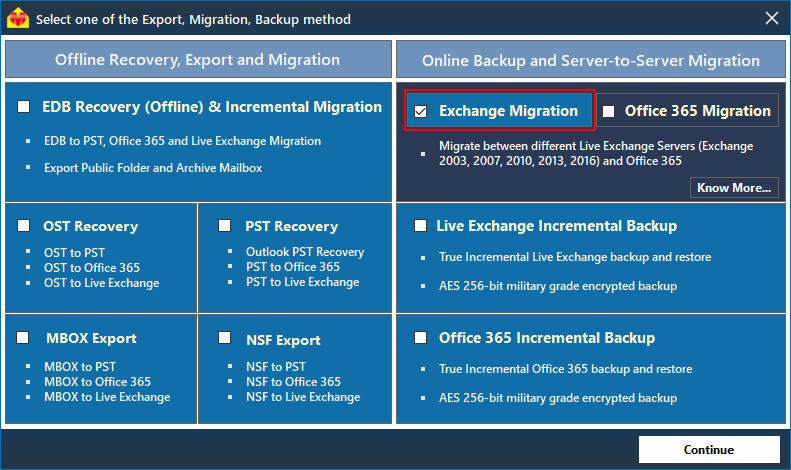 Steps to perform Live Exchange to Office 365 Migration