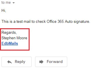 how to change a signature in office 365