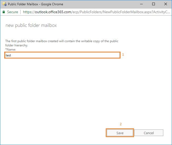 public-folder-mailbox