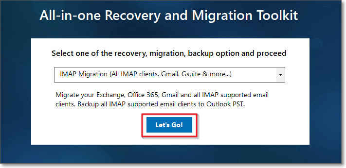 Select IMAP migration