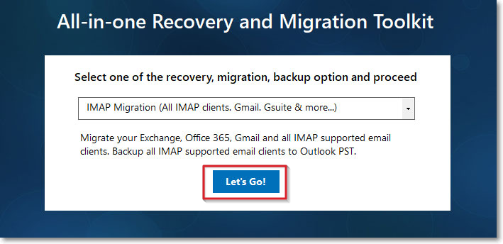 IMAP migration to backup Gmail data